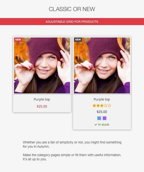 Autumn - Responsive Prestashop 1.6 Theme with Blog - 12