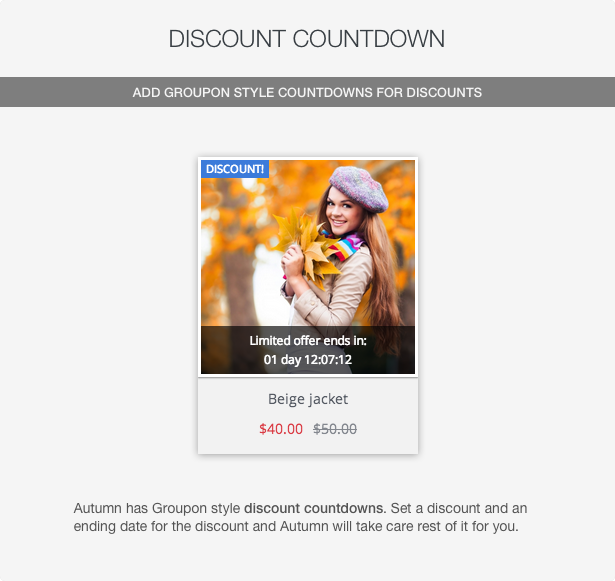 Autumn - Responsive Prestashop 1.6 Theme with Blog - 8